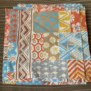 Set of 6 cloth dinner napkins